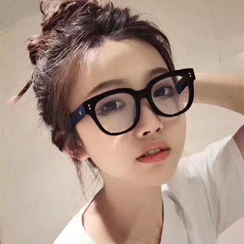 网红韩版防蓝光平光镜