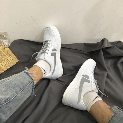 2019夏季港风反光板鞋男ins超火的鞋子街拍chic复古运动高品质潮