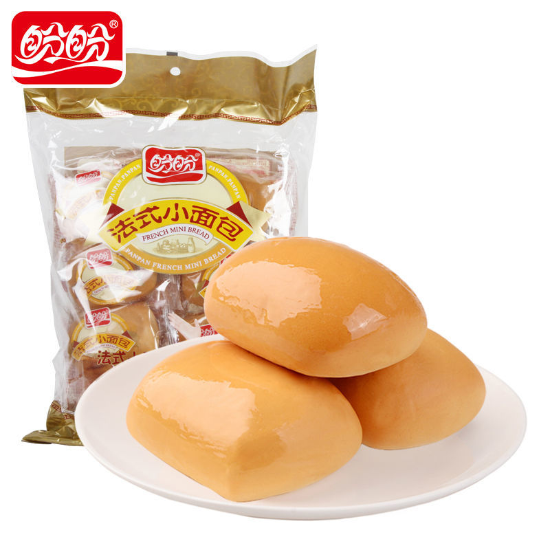 盼盼法式小面包320g/袋早餐零食品糕点办公室点心网红小吃下午茶