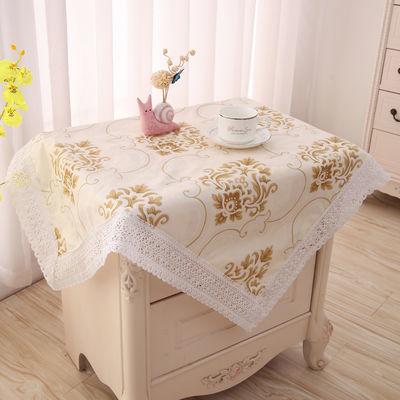 床头柜盖布万能盖巾小桌子盖巾冰箱洗衣机罩微波炉饮水机防尘罩