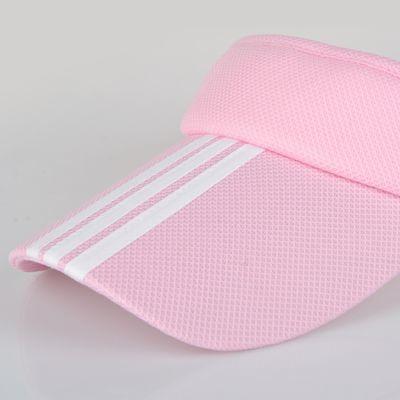 无顶遮阳帽女士防晒空顶帽男夏天旅游太阳帽运动网球帽鸭舌棒球帽
