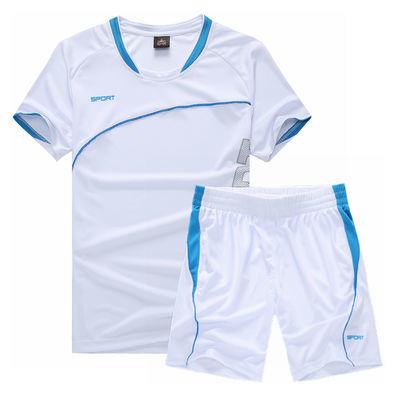 男装夏天运动套装男短裤两件套男士短袖t恤运动服休闲裤宽松裤子