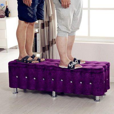 布艺实木欧式沙发凳换鞋凳床尾凳储物凳试鞋凳收纳凳长条凳茶几凳