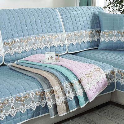四季通用沙发垫布艺全包万能套罩巾坐垫全盖欧式靠背夏天夏季套装