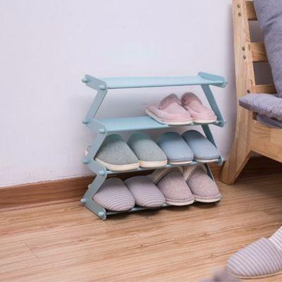 五层防锈多层简易鞋架防尘鞋架塑料鞋架简约鞋架晒鞋架