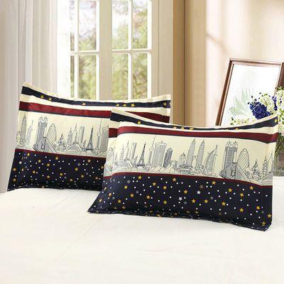 一对装48cmx74cm新款枕套单人加大枕头套不是纯棉枕芯套多款可选