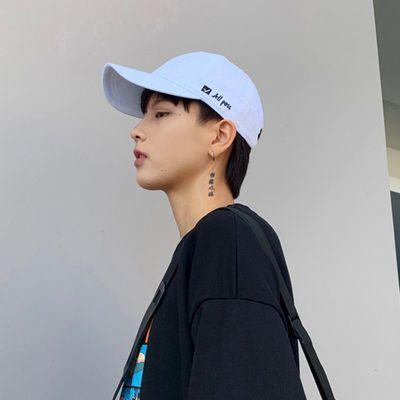 帽子男夏天韩版街头潮人鸭舌帽女学生百搭太阳棒球帽遮阳帽嘻哈帽