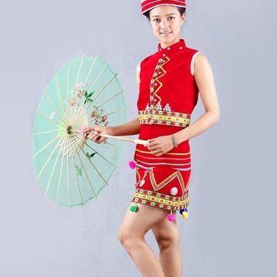 花腰傣傣族成人女装 云南民族服饰 舞蹈演出服饰 舞台演出服