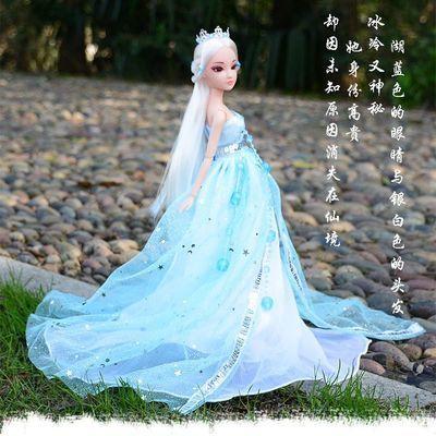 古装芭比娃娃换装洋娃娃套装锦觅古风仙女宫廷贵妃叶罗丽冰公主