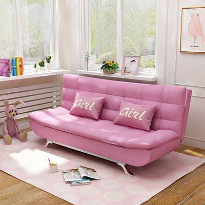 沙发床可折叠客厅单人双人三人多功能小户型两用可拆洗布艺沙发床