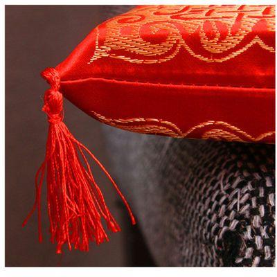 【一手货源】中式喜庆坐垫大红色婚庆跪拜垫新人敬茶垫酒店餐椅垫