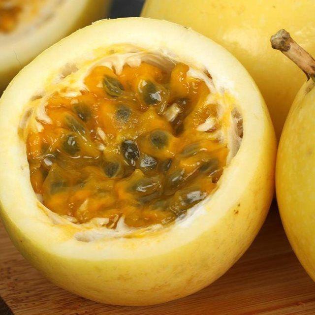 【共5斤】黄金百香果 福建新鲜水果现摘现货黄色甜西番莲黄金果_1