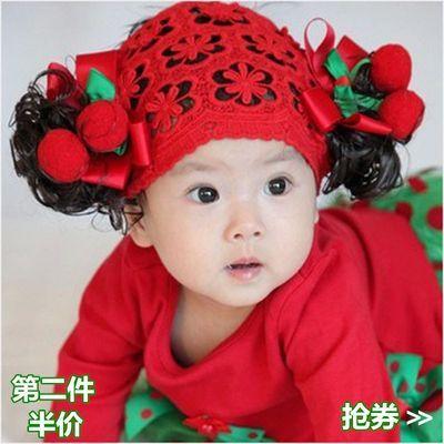 2个发饰刘海假发带发箍头花蝴蝶结手工束发带头饰品女束发带韩国