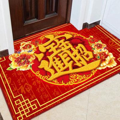 进门地垫入户门垫客厅玄关门厅地毯卧室门口厨房浴室防滑垫子定制