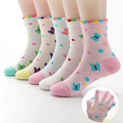 薄款打底袜季薄童袜子儿童连裤袜中筒冬季儿童袜款儿子女防臭女童