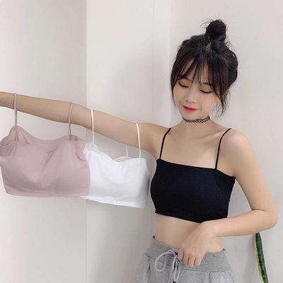 冰丝裹胸防走光内衣女学生韩版性感抹胸打底吊带小背心女内穿薄款
