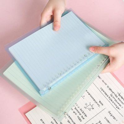 A5B5活页本笔记本子可拆卸活页夹外壳记事本笔记本买1本送1本