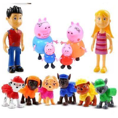 汪汪队立大功玩具 小猪佩奇 儿童玩具巡逻汪汪队汽车旺旺队套装