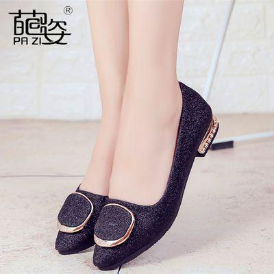 内增高磨砂小皮鞋