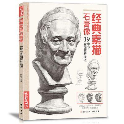 经典全集素描石膏像临摹范本书籍素描结构体块精选教材头骨