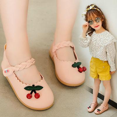 女童皮鞋2019春秋季新款儿童学步鞋小童单鞋可爱女宝宝软底公主鞋
