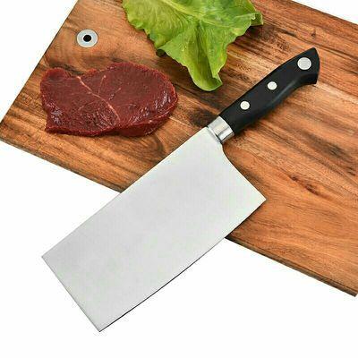 德国进口全新不锈钢材质材料家庭家居厨房菜刀厨师刀菜肉刀砍切刀
