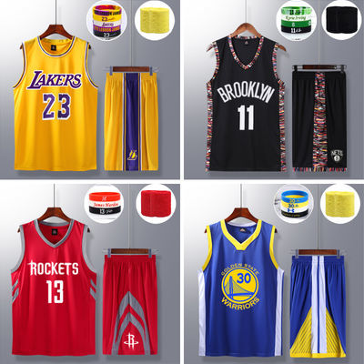 篮球服套装男詹姆斯球星大学生球衣比赛篮球队服运动训练背心定制