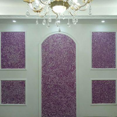 墙衣纤维涂料厂家直销电视背景墙客厅卧室快速发货