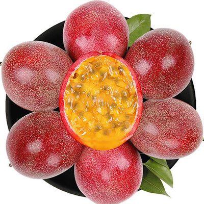 【已拼百万单】广西百香果5斤3/2斤12/10个水果新鲜批发【2月29日发完】