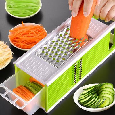 五合一刨丝器多功能切菜器 厨房多功能切丝器 四面方刨切菜器神器,免费领取1元拼多多优惠券