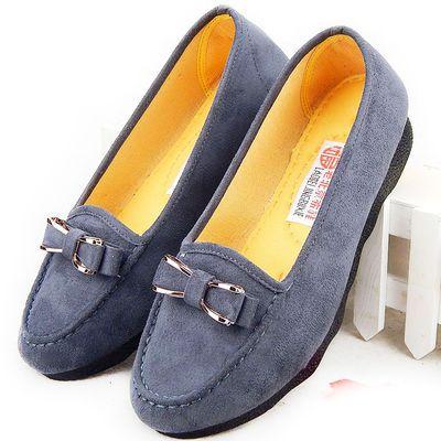 中年女士妇女鞋子40-50岁正宗秋季老北京品牌布鞋女妈妈休闲鞋夏
