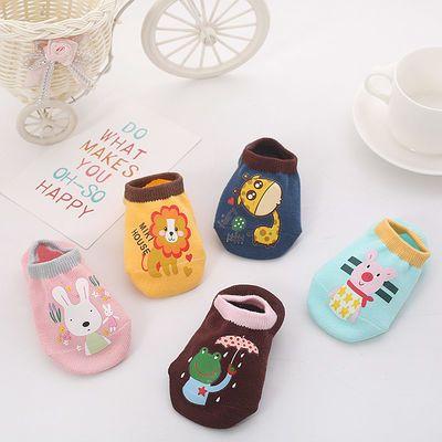 宝宝地板袜 防滑小猪旺旺儿童船袜婴儿袜子袜套早教学步袜1-3-5岁