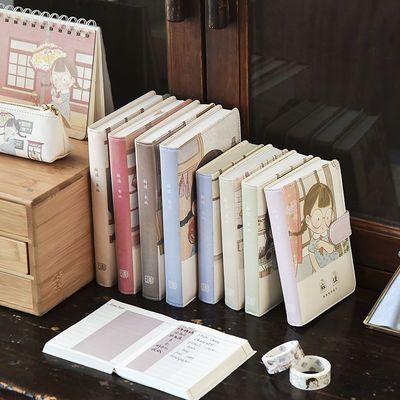 三年二班 麻球笔记本子学生创意皮面本女生可爱手账本记事日记本Z