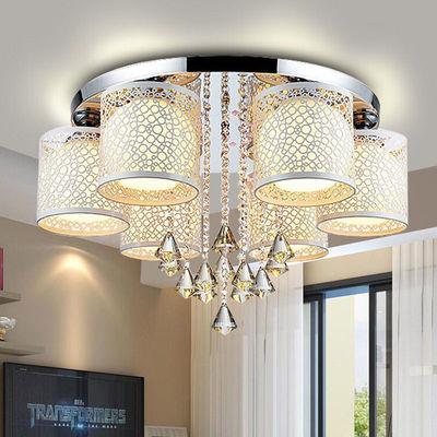 灯具客厅灯led吸顶灯创意房间灯主卧室灯水晶餐厅吊灯饰全屋套餐