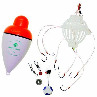 LED鲢鳙漂海竿漂抛竿漂大头鱼漂发光浮漂醒目鲢鳙夜光大肚漂 套装
