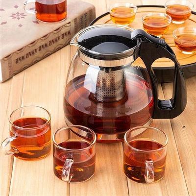 【亏本大促销】900-1500ml耐热玻璃茶具茶壶套装泡茶壶套装单壶