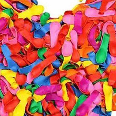 加厚大3号小气球批发儿童彩色射击打靶枪飞镖苹果打枪玩具水气球