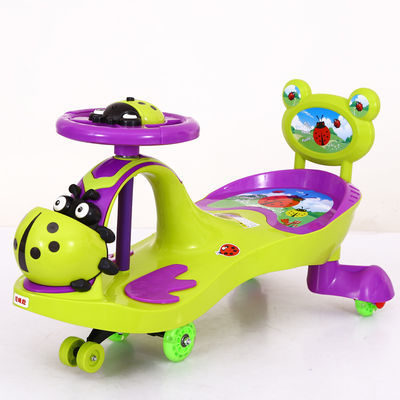 儿童扭扭车溜溜车带音乐静音轮宝宝滑行车1-8岁玩具妞妞车摇摆车