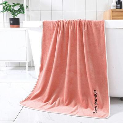 包边浴巾比纯棉吸水强柔软加大加厚男女情侣洗澡浴巾美容院