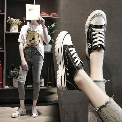 小白鞋女2019新款韩版百搭基础休闲网红板鞋港风ins运动鞋女学生【3月5日发完】