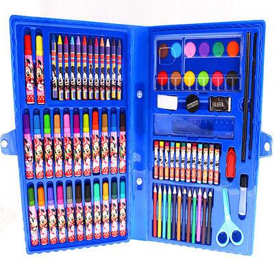 文具工具学生日本蜡笔小学笔套装彩铅油画笔彩笔小学生水彩笔本文