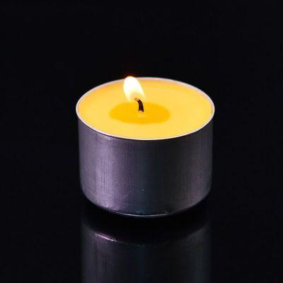 供佛酥油灯3 4 8 12小时100粒24家用无烟香薰蜡烛浪漫煮茶酒店KTV