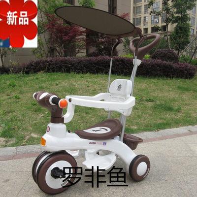 贝比乐乐儿童三轮车婴儿婴儿推车男女孩宝宝车脚踏车学步神器手推