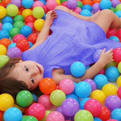 【加厚50个100个】彩色球波波池小球游泳池室内宝宝婴儿童玩具球