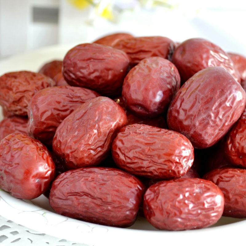 红枣新疆特产灰枣红枣干红枣农家自种若羌灰枣枣子