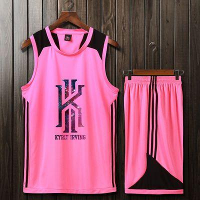 AJ詹姆斯篮球服定制欧文哈登迷彩球衣儿童学生比赛训练服团购定制