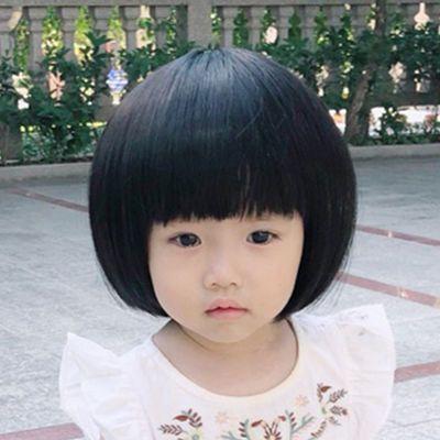 儿童假发女孩公主假发小孩女宝宝长发女童短卷发幼儿园表演假发