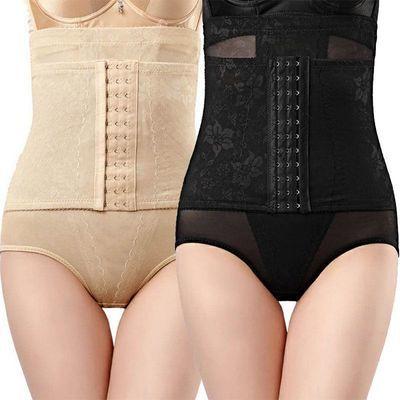 【收腹内裤】前三排扣高腰收腹裤女后脱式产后瘦身塑身裤提臀收腹