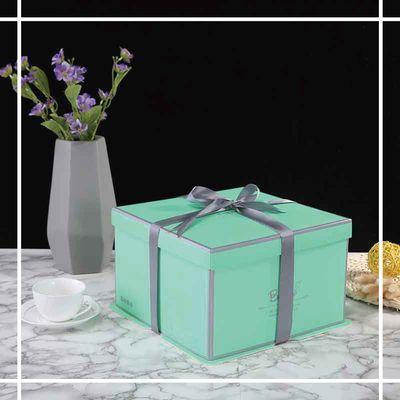 纸质方形蛋糕盒子包装盒网红创意高档 6 8 10 12 14 16寸六八十寸