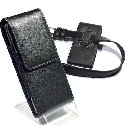 竖款挂腰串穿皮带手机包男士腰包6.43 6.5 6.28 5.5中老年手机套